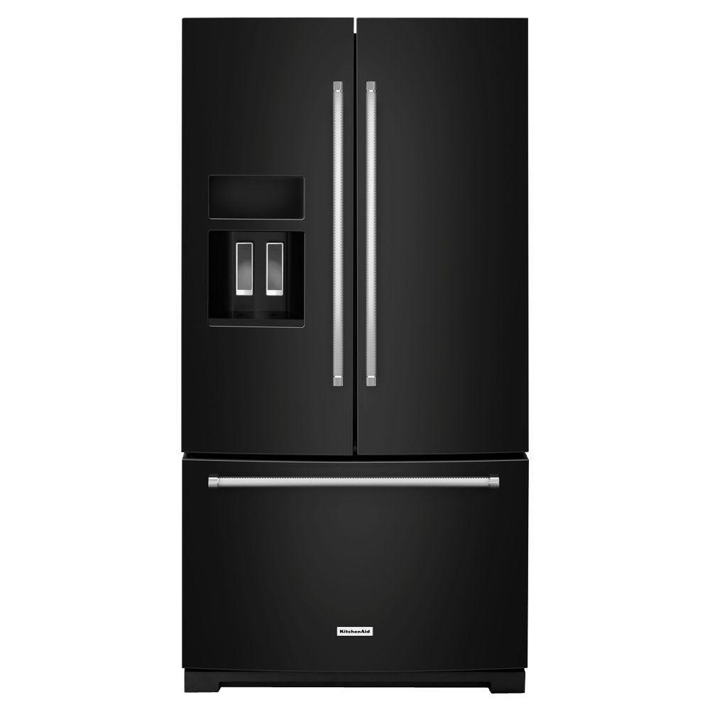 Kitchenaid 43 24 2 Cu Ft Built In French Door: Refrigerators & Fridges