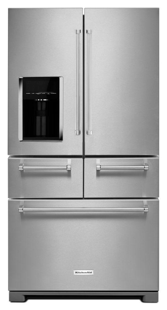 Kitchenaid 25 8 Cu Ft Multi Door Freestanding