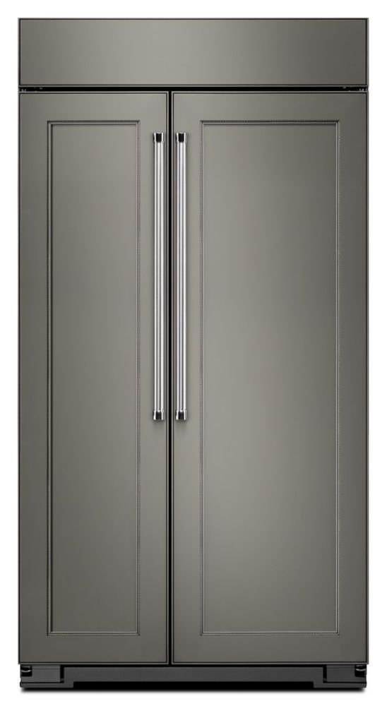 25.5 cu. ft. Built-In Side-by-Side Refrigerator in Panel-Ready Design