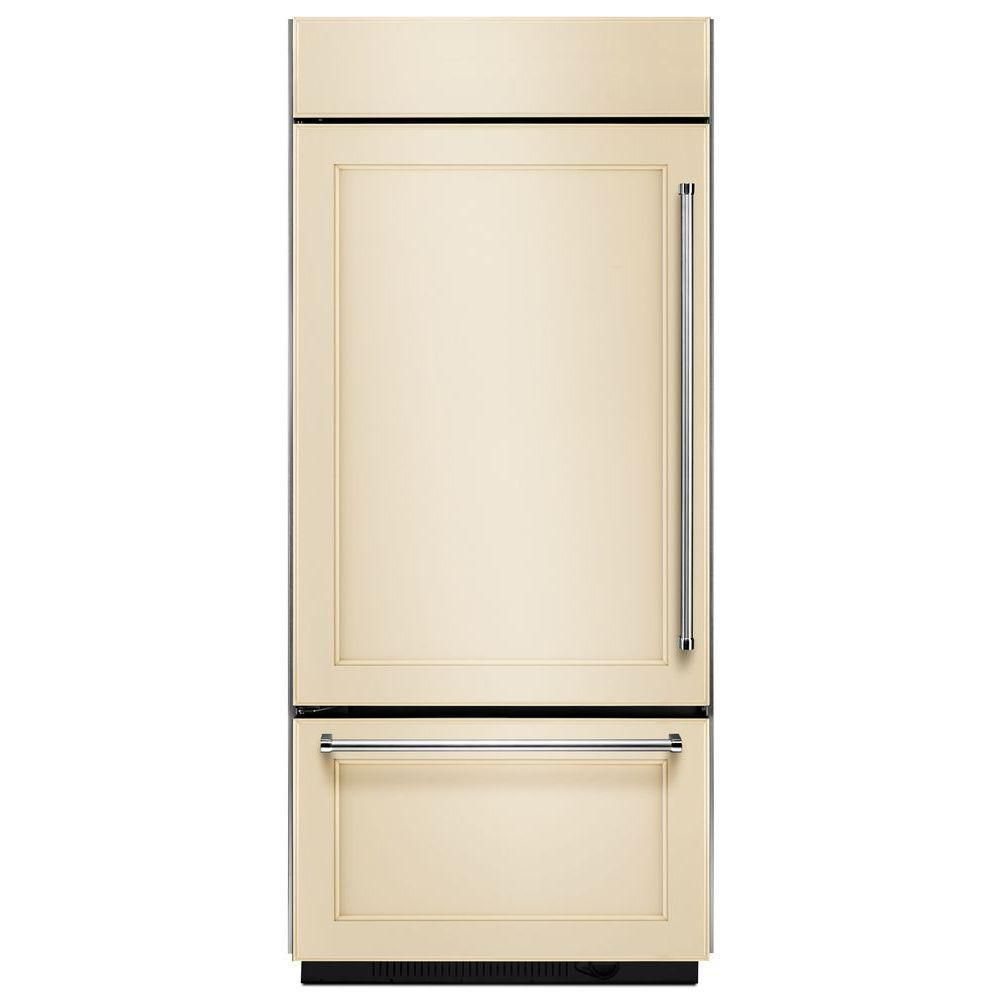 20.9 cu. ft. Built-In Refrigerator with Bottom Mounted Freezer in Panel-Ready