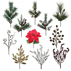 Home Accents Holiday 20-inch Decorative Christmas Spray