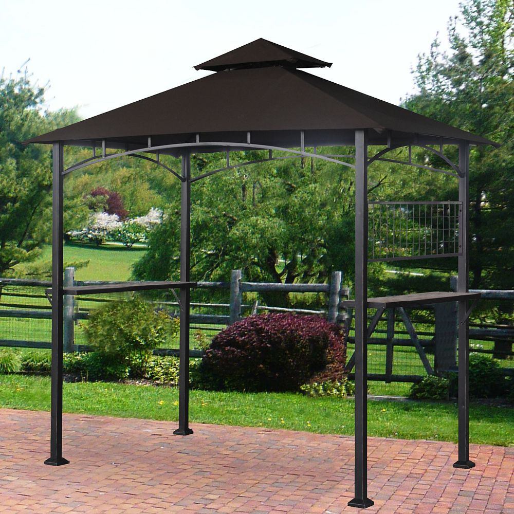 Calais 5 ft. x 8 ft. Grill Gazebo with Vented Canopy