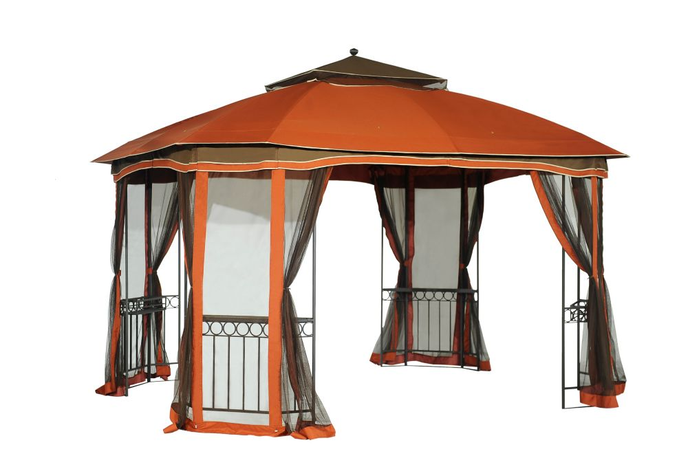 Patrice 10 ft. x 12 ft. Gazebo with Vented Canopy
