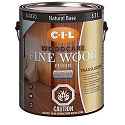 CIL Woodcare Fine Wood Finish Tran Nat Base 3.70L-840470