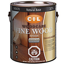 Woodcare Fine Wood Finish Tran Nat Base 3.70L-840470