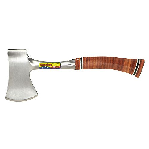 Estwing 14-inch Sportsman's Axe with Leather Grip Handle