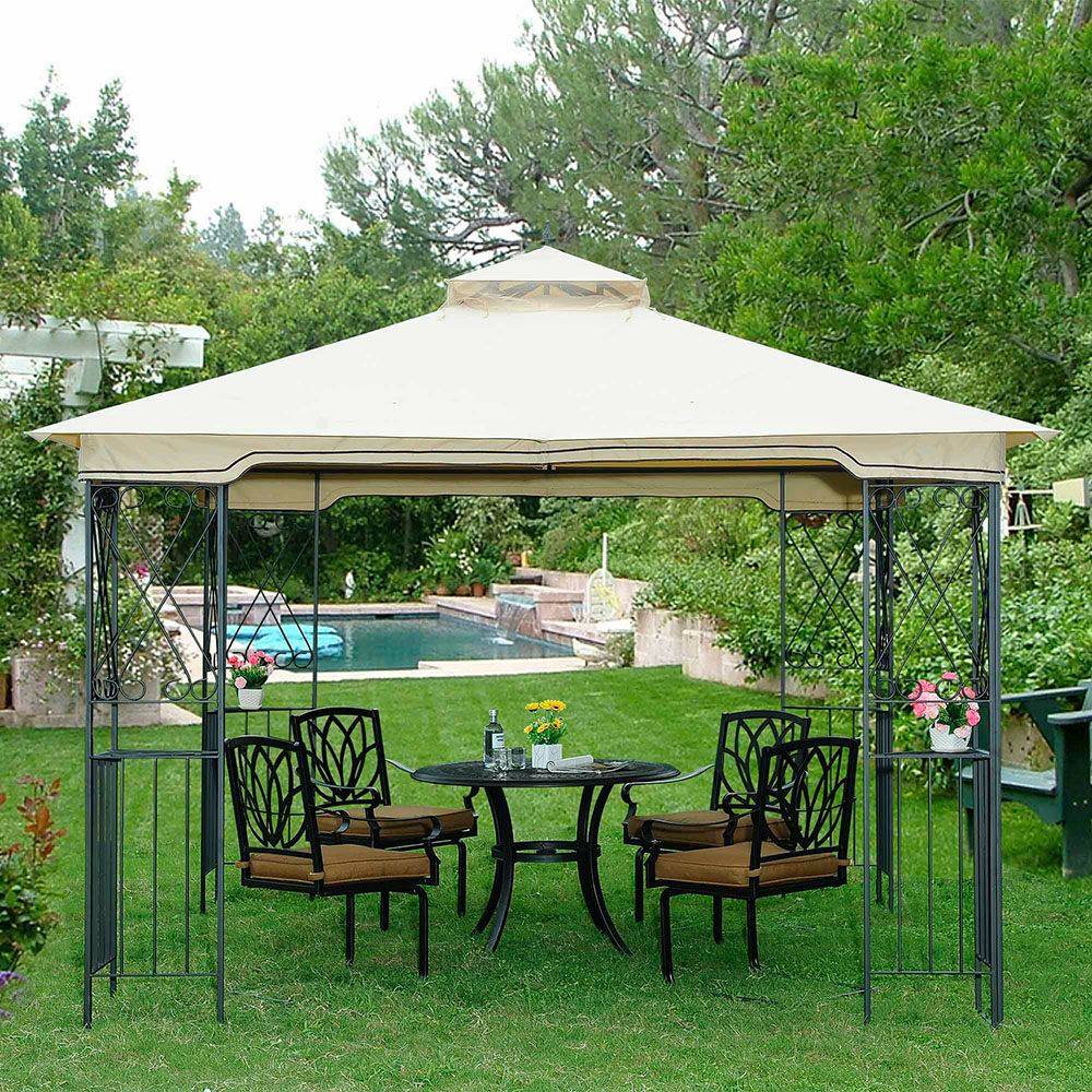 Marshall 10 ft. x 10 ft. AIM Gazebo with Vented Canopy