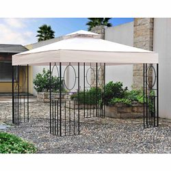 Sunjoy 10 ft. x 10 ft. Masley EZ-Set Gazebo
