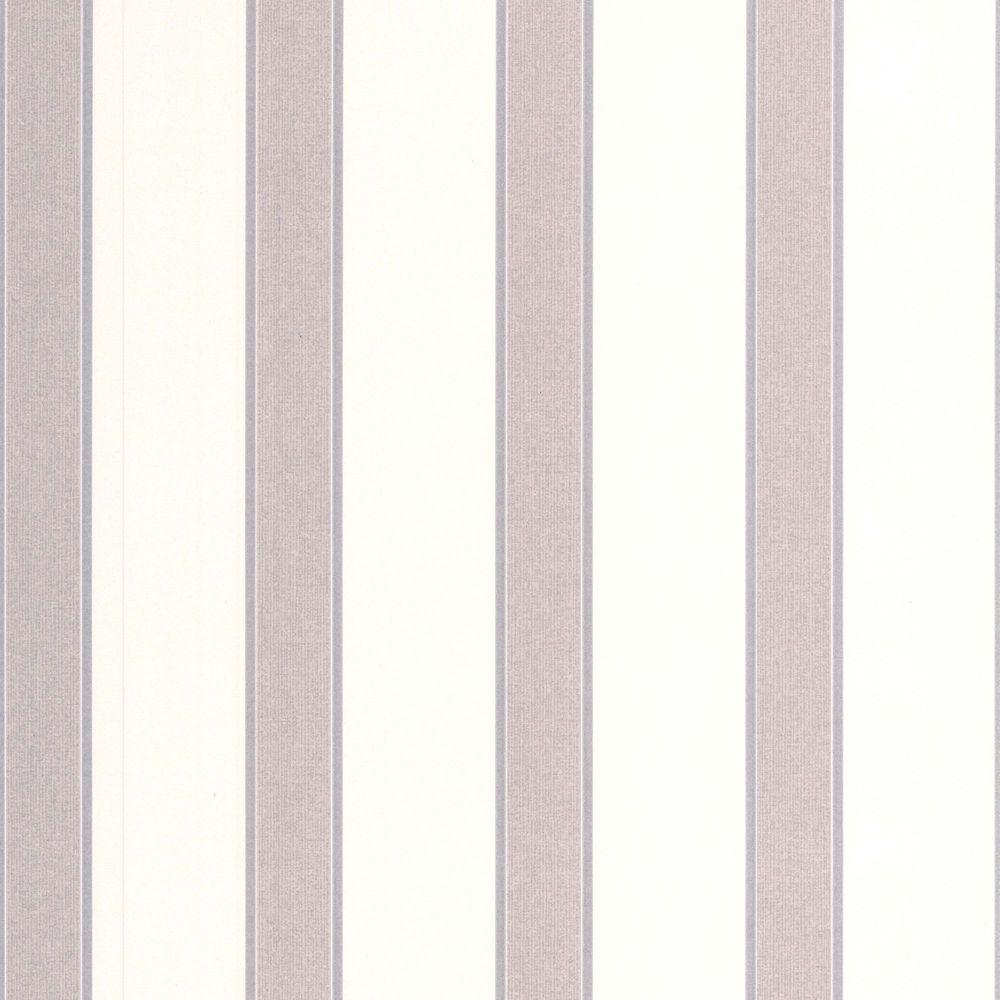Duke Grey/Cream/Silver Wallpaper