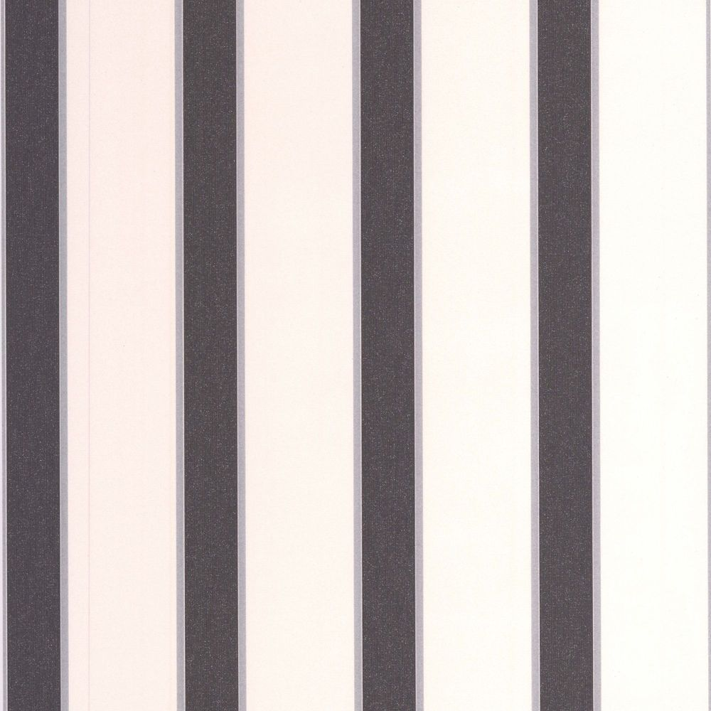 Duke Black/White/Silver Wallpaper