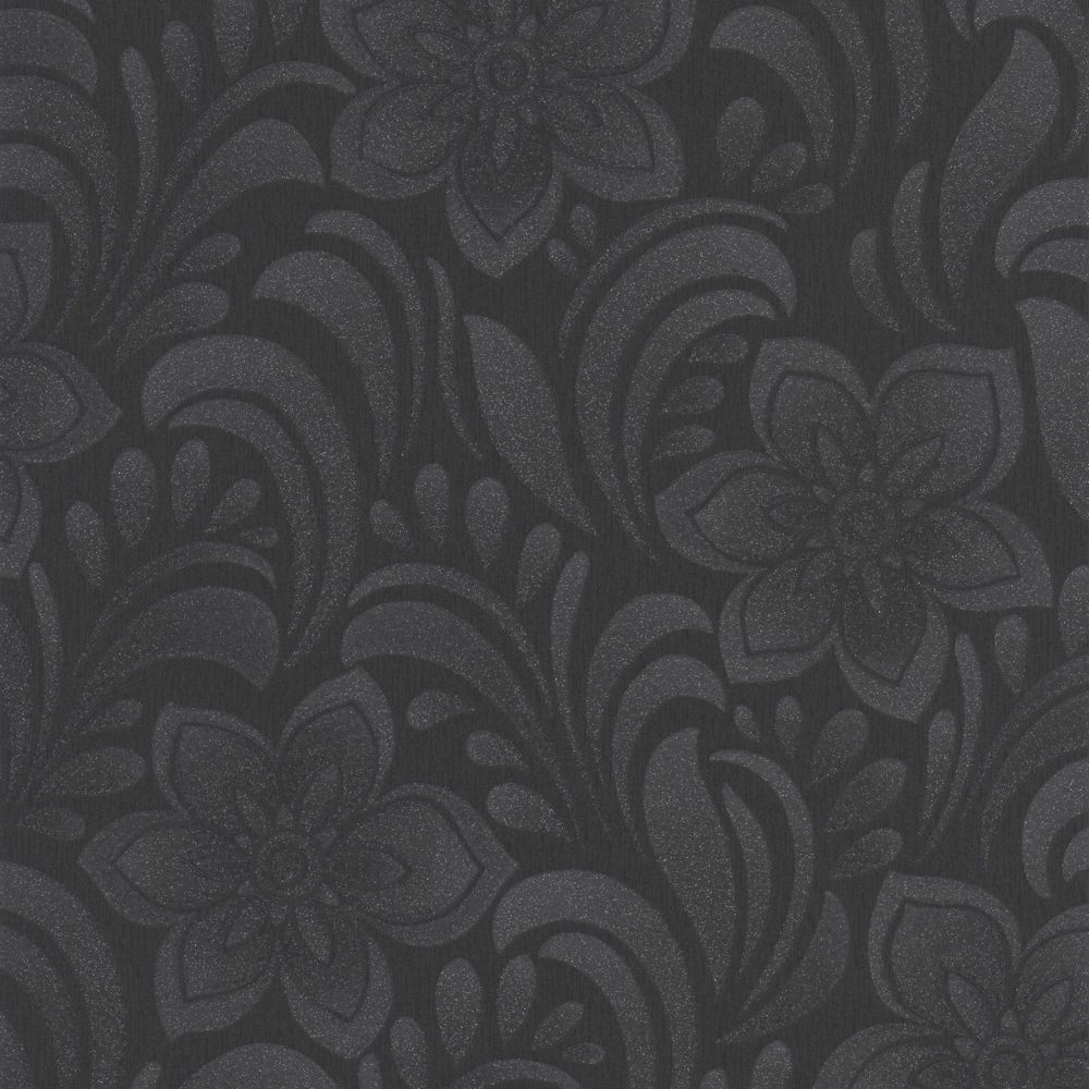 Graham brown jacquard papier peint gris home depot canada - Papier peint graham brown ...