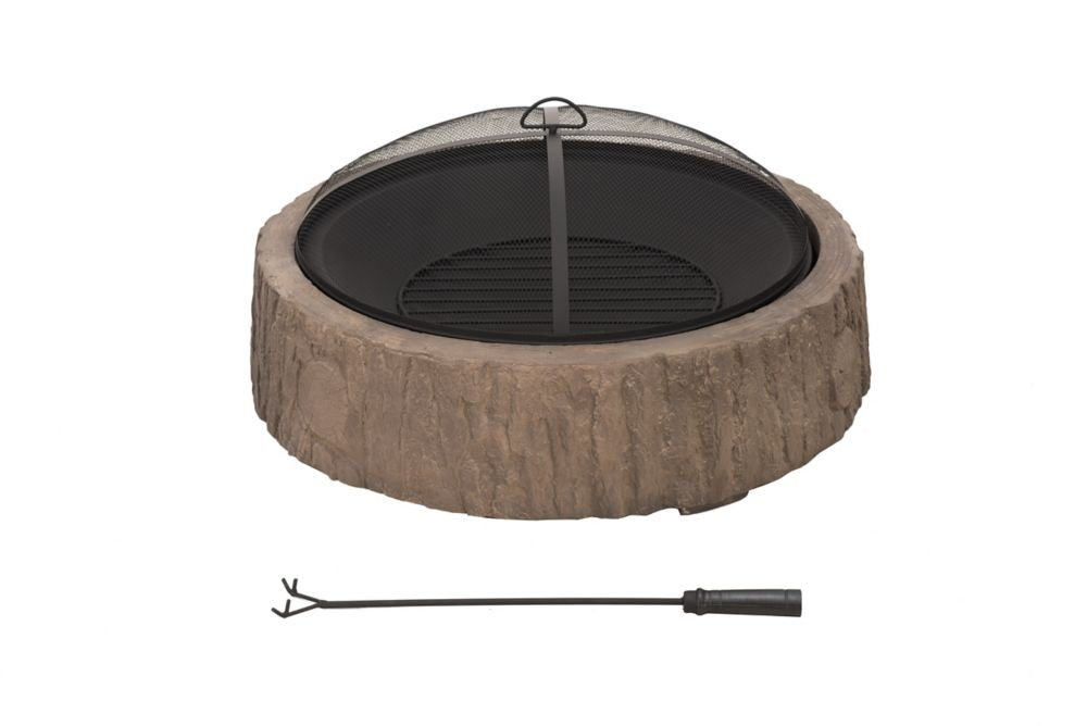 Sunjoy Backwoods 34-inch Outdoor Fire Pit