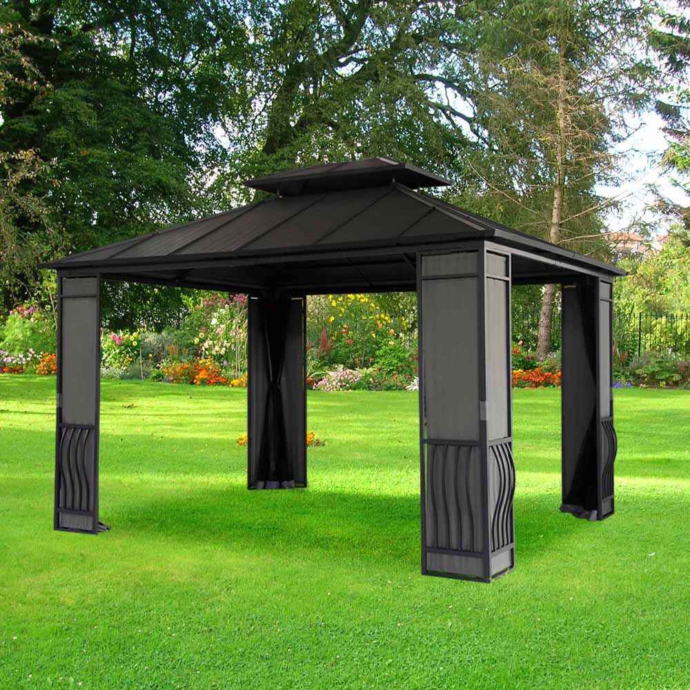 Wexford 10 ft. x 12 ft. Gazebo with Vented Canopy
