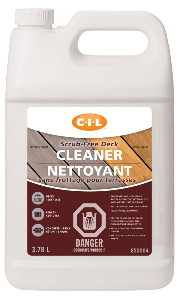 CIL Srub-free Deck Cleaner, 3.78 L