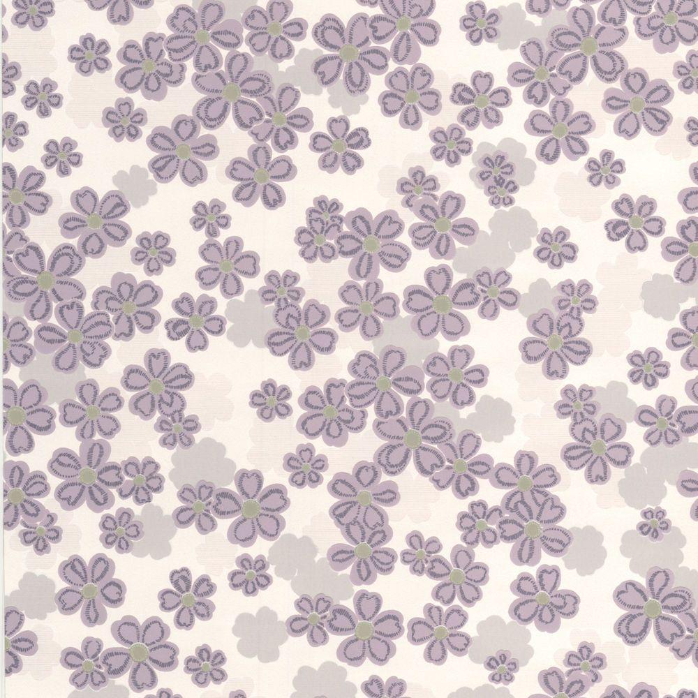 Woodstock LavenderWallpaper 20-614 in Canada