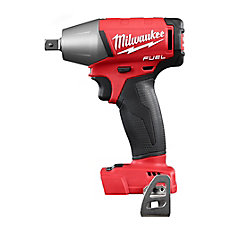 M18 FUEL 18-Volt Lithium-Ion Brushless Cordless 1/2 in. Compact Impact Wrench With Pin Detent (Tool-Only)