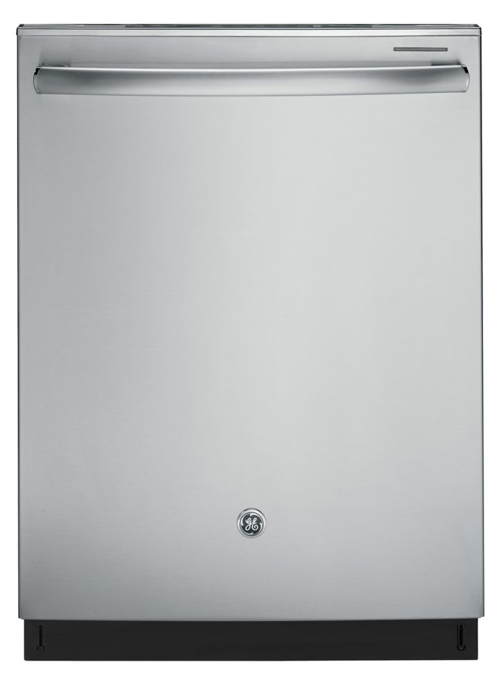 Ge 24 inch built in dishwasher with tall tub in stainless for 24 inch built in microwave stainless steel