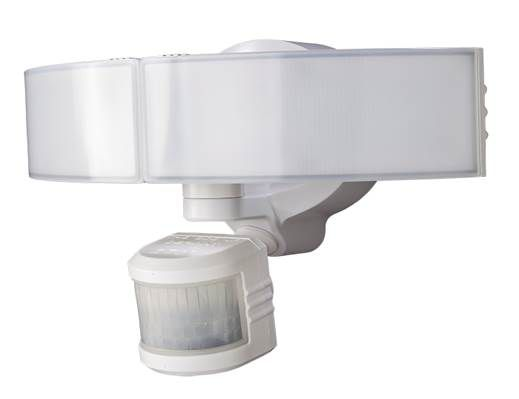 Spotlights motion sensor lights more the home depot canada defiant 270 degree white motion activated outdoor integrated led security light with bluetooth aloadofball Image collections