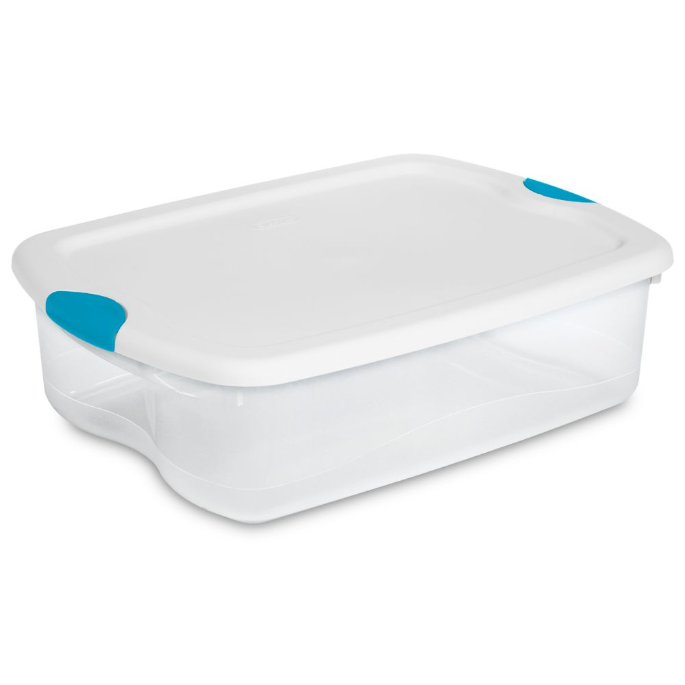 Sterilite 33 Litre Latch Box - White