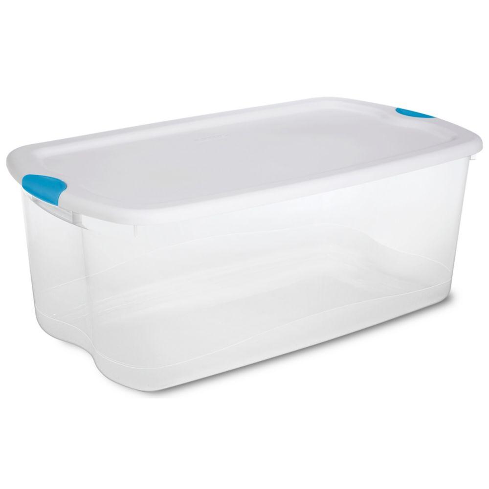 100 Litre Latch Box - White