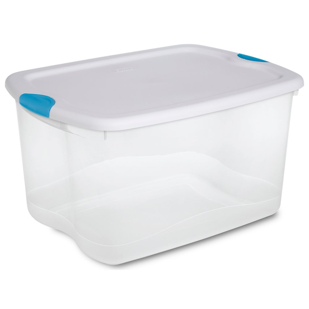 62 Litre Latch Box - White