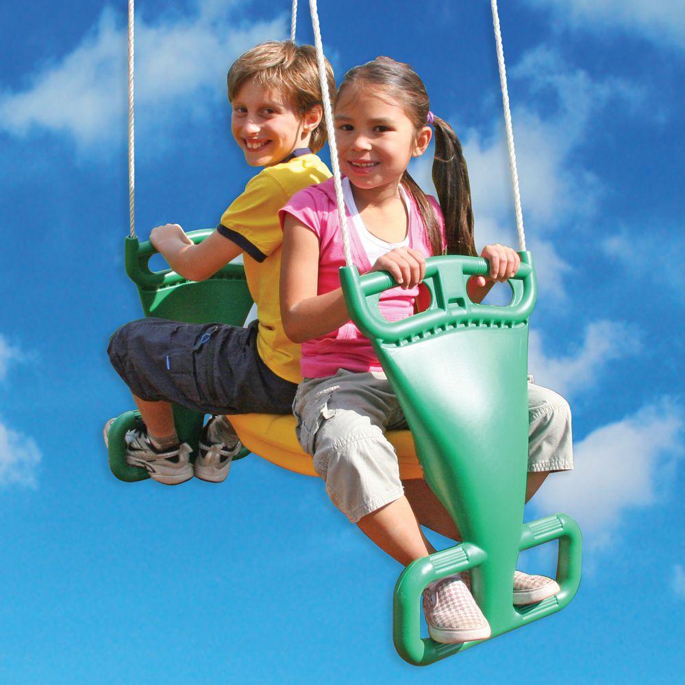 Big Backyard 2-Person Glider Swing