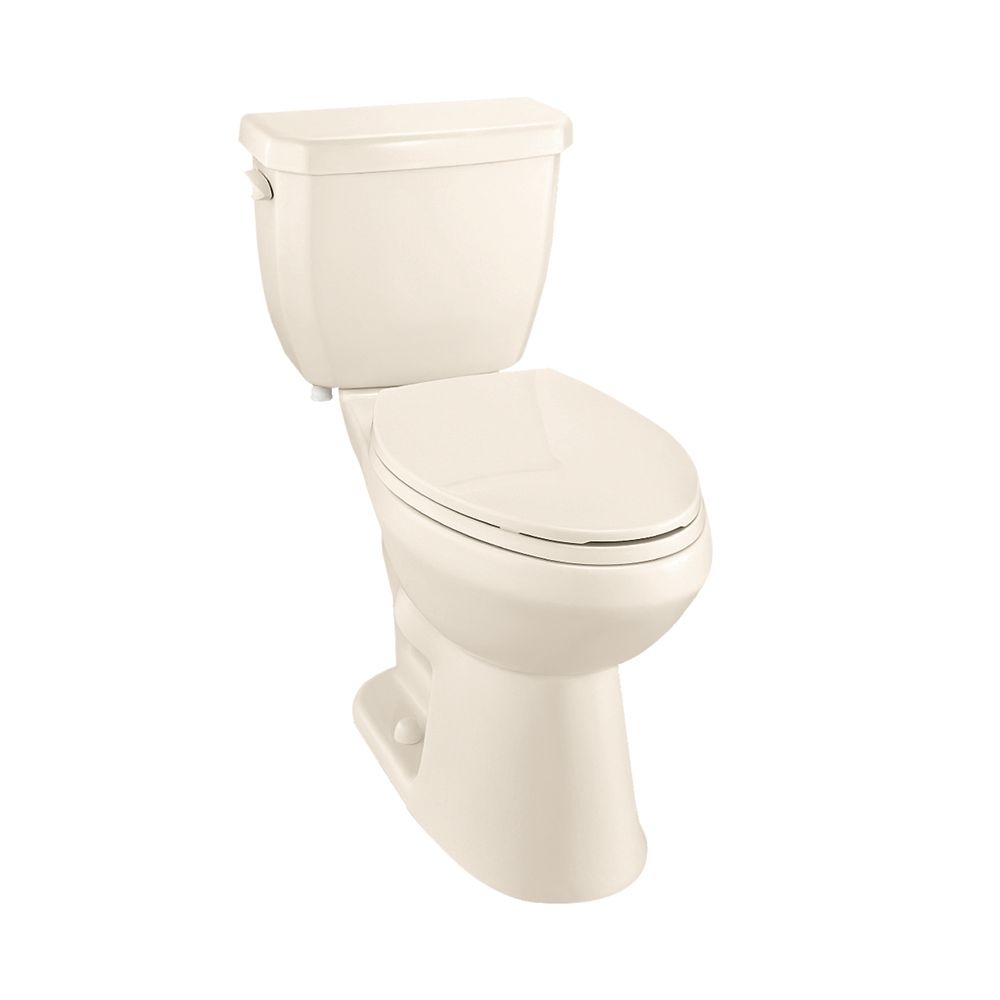 glacier bay toilette 2 pi ces cuvette allong e de 4 8l tout en un de couleur os home depot. Black Bedroom Furniture Sets. Home Design Ideas