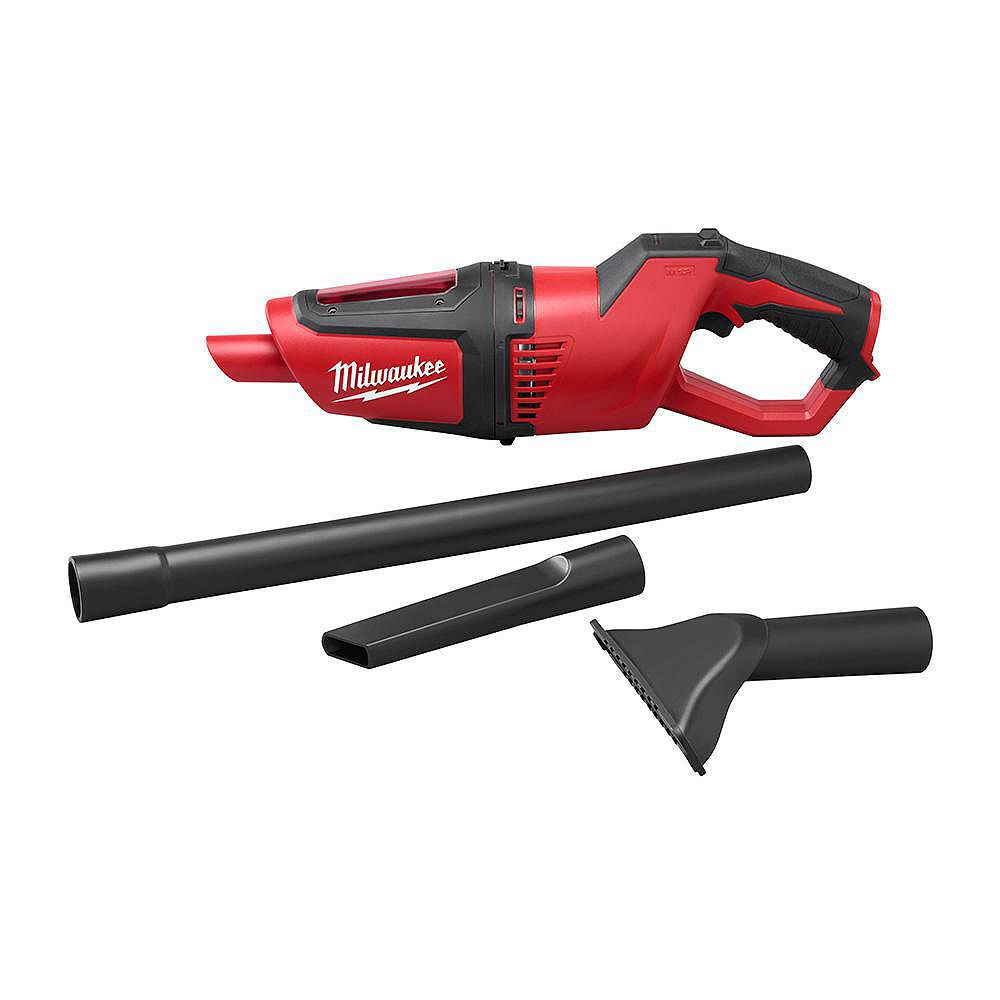 Milwaukee tool aspirateur compact m12 home depot canada for Housse aspirateur