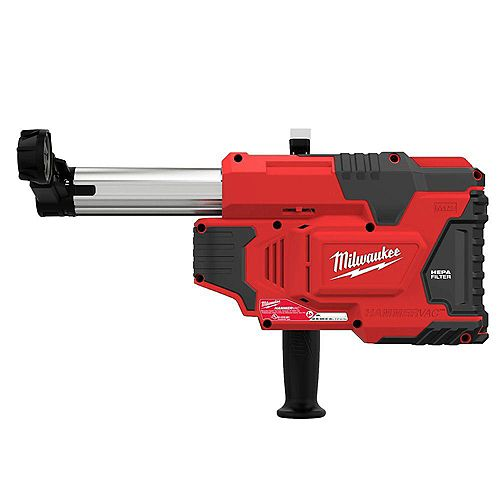 Milwaukee Tool M12 12V Lithium-Ion Cordless HammerVac Universal Dust Extractor (Tool Only)