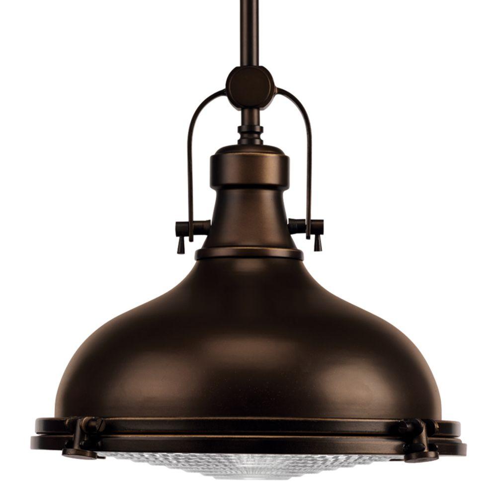Kitchen Island Lighting Fixtures Home Depot: Progress Lighting Staunton Collection 1-light Antique