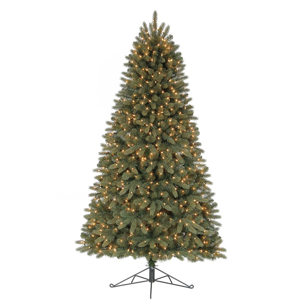Arbre de Noël Hayden Half avec lumières intégrées, 2,1 m (7 pi)