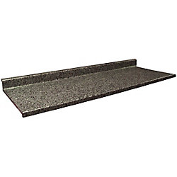 Belanger Laminates Inc 4979-07 Profile 2700 22 1/2-inch x 36-inch Vanity Countertop in Ink Vesta
