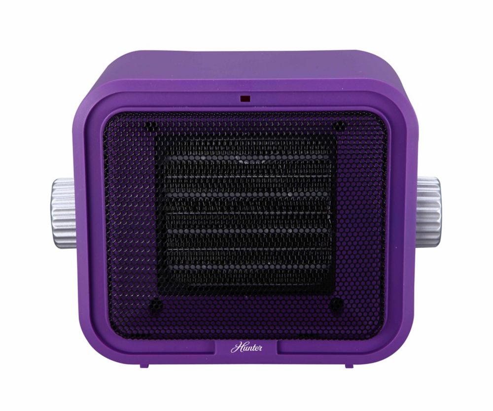 Hunter Ceramic Retro Heater Purple