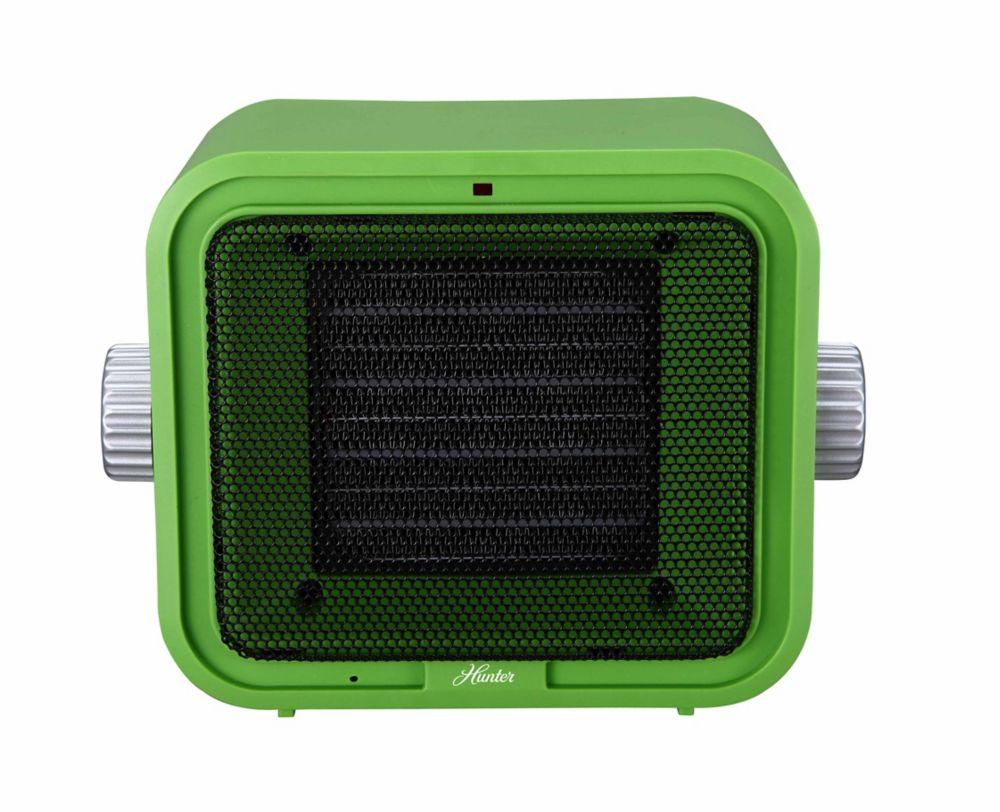 Hunter Ceramic Retro Heater Green