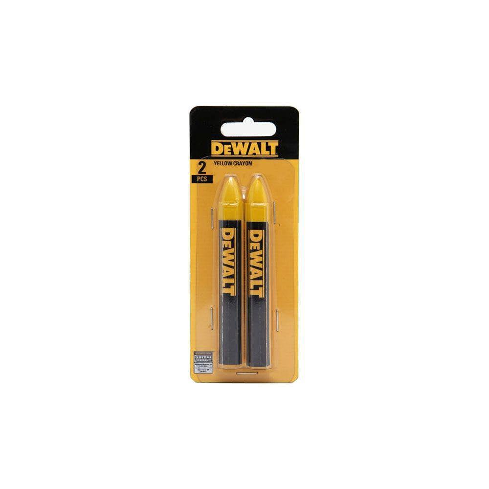 DEWALT Mark Lumber Crayon in Yellow