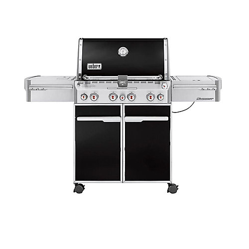 Summit E-470 Propane BBQ in Black