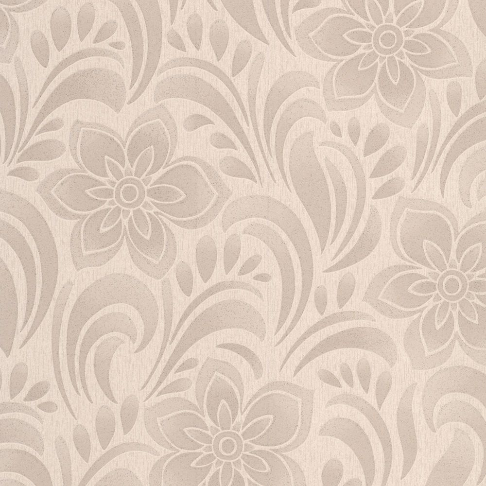 Gold Wallpaper Canada: York Wallcoverings Saint Augustine Gold/Gray Floral Trail