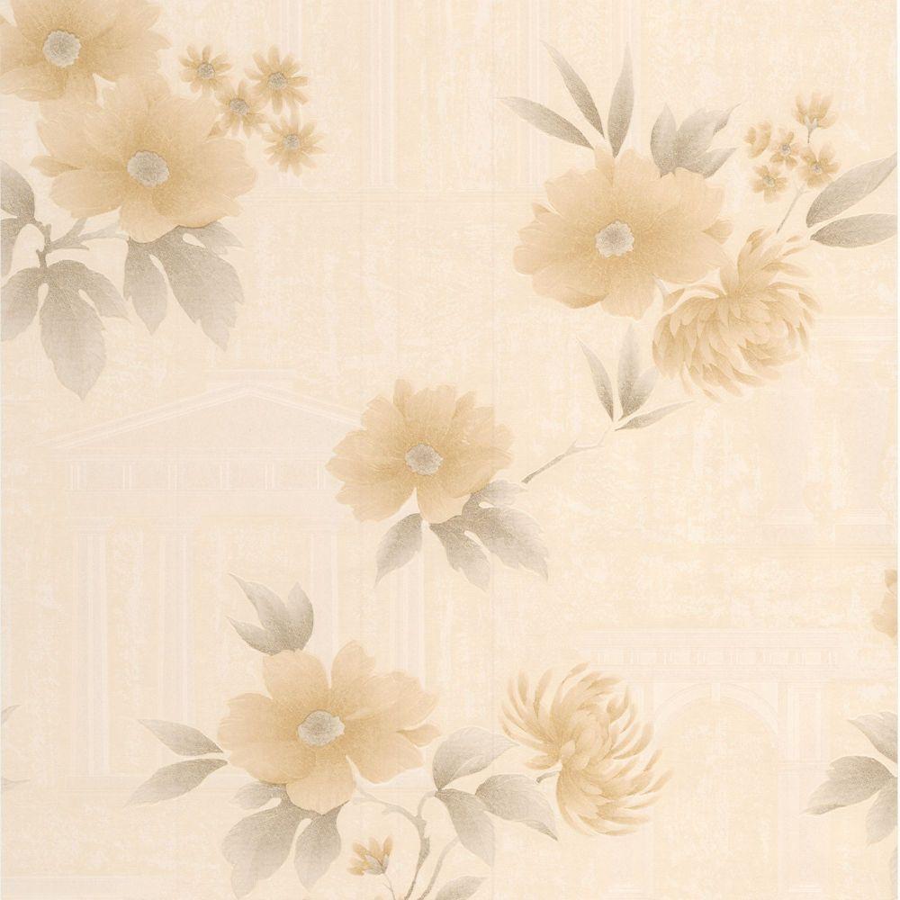Rome Gold/Beige Wallpaper