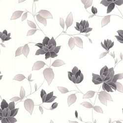 Graham & Brown Amy Black and White Removable Wallpaper