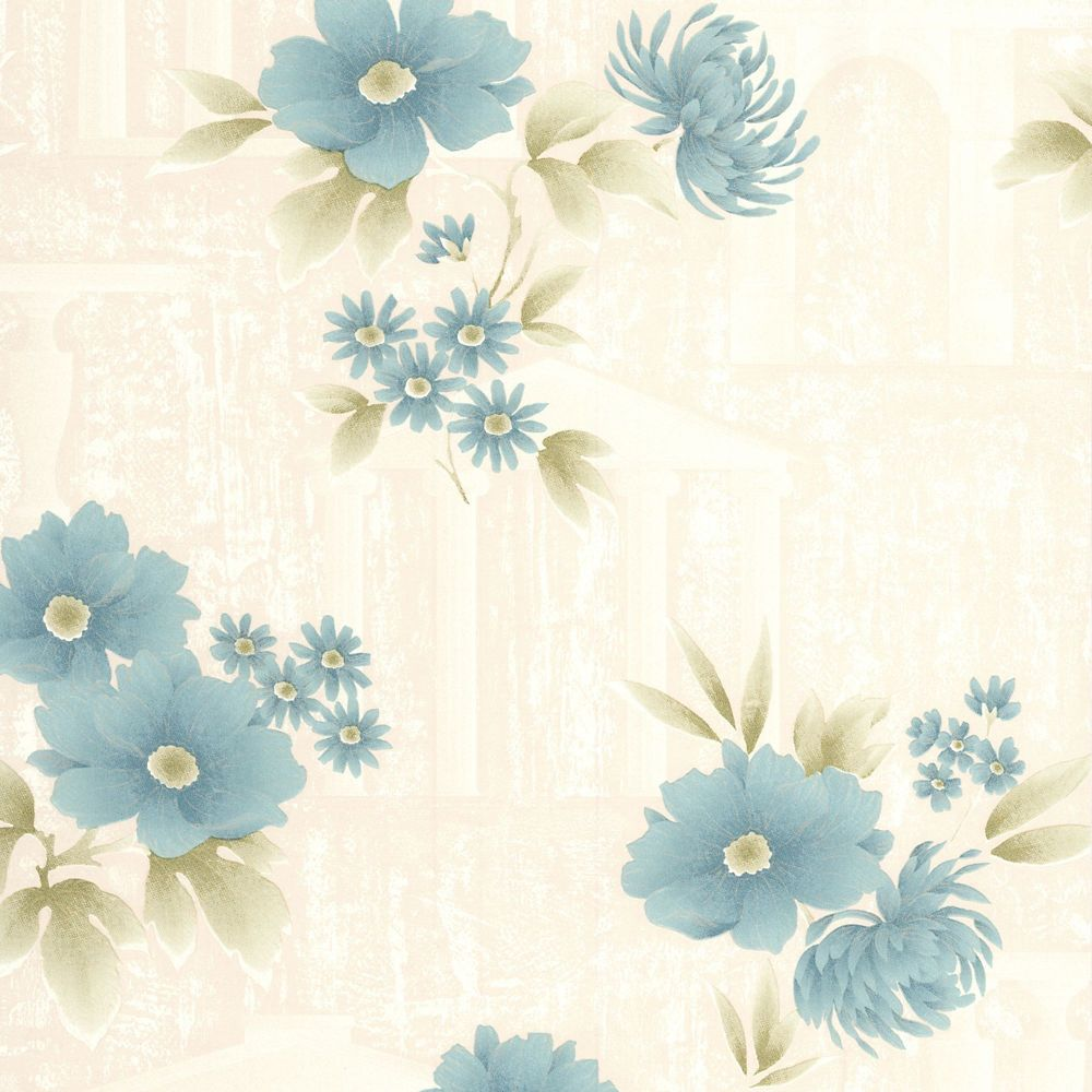 Rome Teal Wallpaper 32-471 Canada Discount