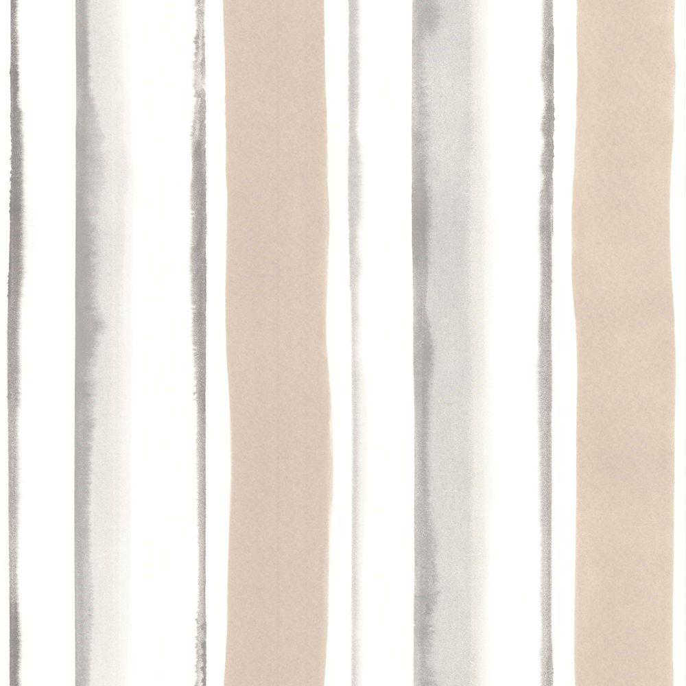 Cascade Papier Peint Crème