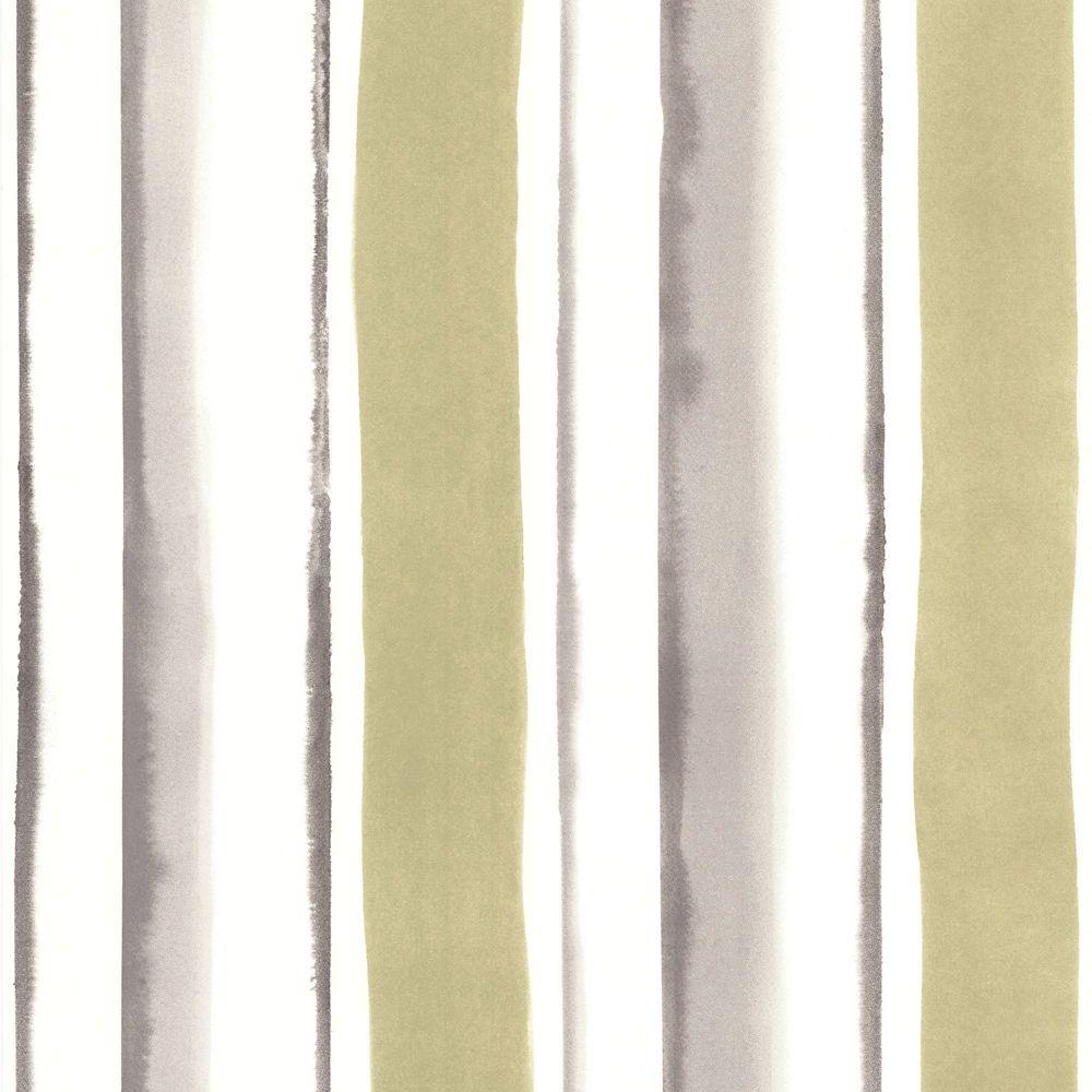 Cascade Papier Peint Vert