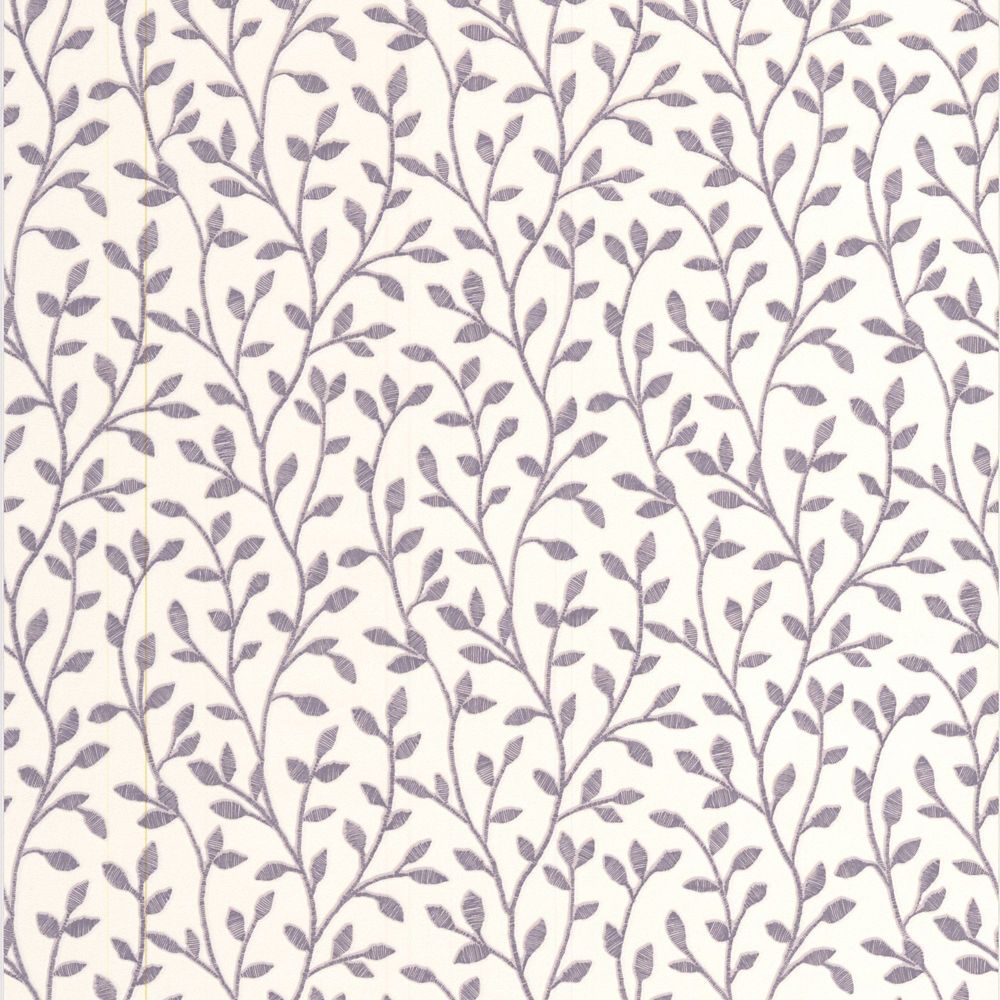 Boho Lavender/Cream Wallpaper
