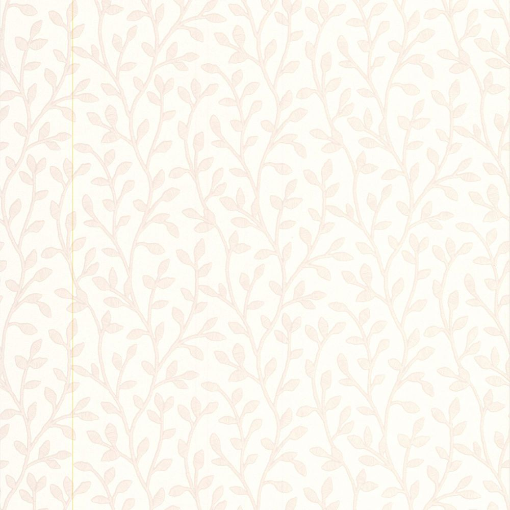 Boho White Mica Wallpaper