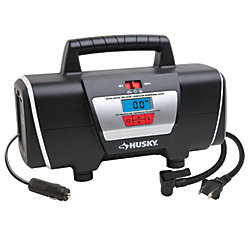 HUSKY 12/120 Volt Auto and Home Inflator