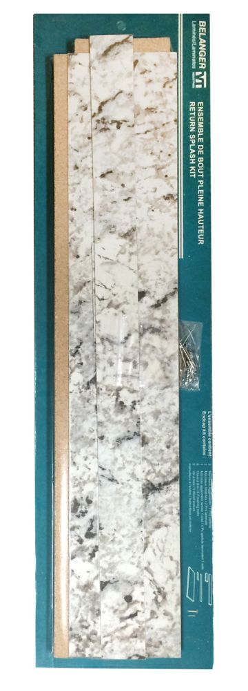 Return Splash Kit White Ice Granite 9476-43