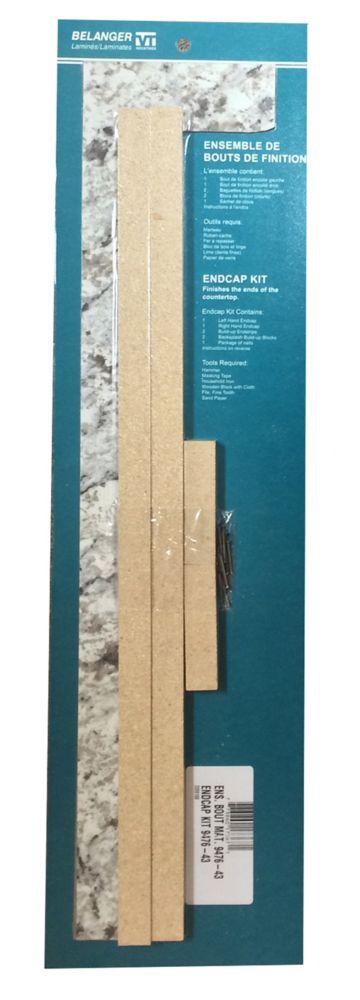Ensemble de bout, couleur Granite Glace Blanche 9476-43