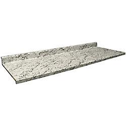 Belanger Laminates Inc 9476-43 Profile 2700 22 1/2-inch x 60-inch Vanity Countertop in White Ice Granite