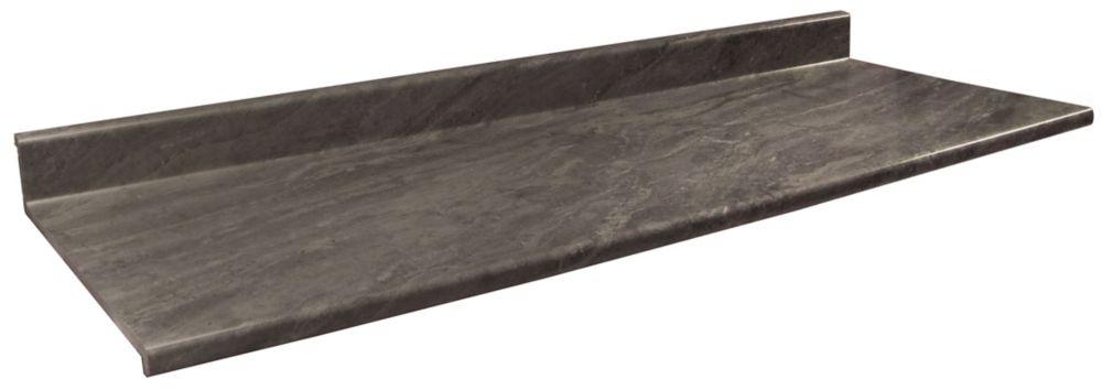 Comptoir vanité, profil 2300 , couleur Bronzite 4971-52,  22.5 po  x 36 po