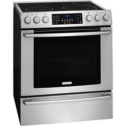 Electrolux 30-inch 4.6 cu. ft. Electric Front Control Freestanding in Stainless Steel